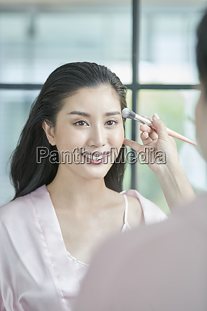 female beauty makeup