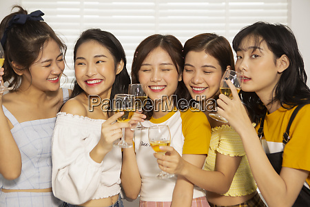 woman lifestyle party