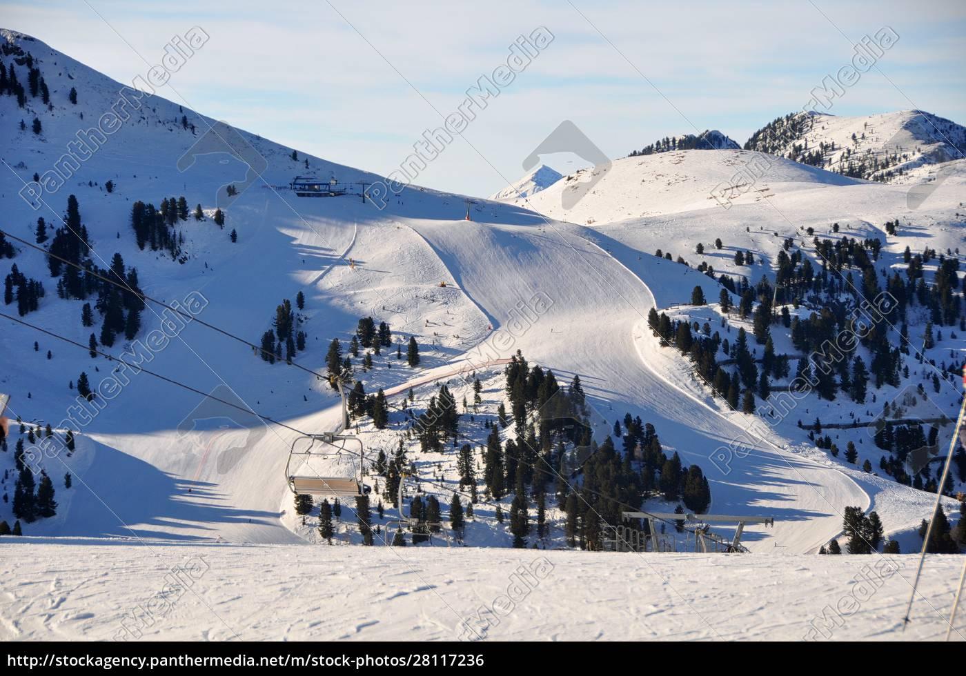 skifahren, in, südtirol - 28117236