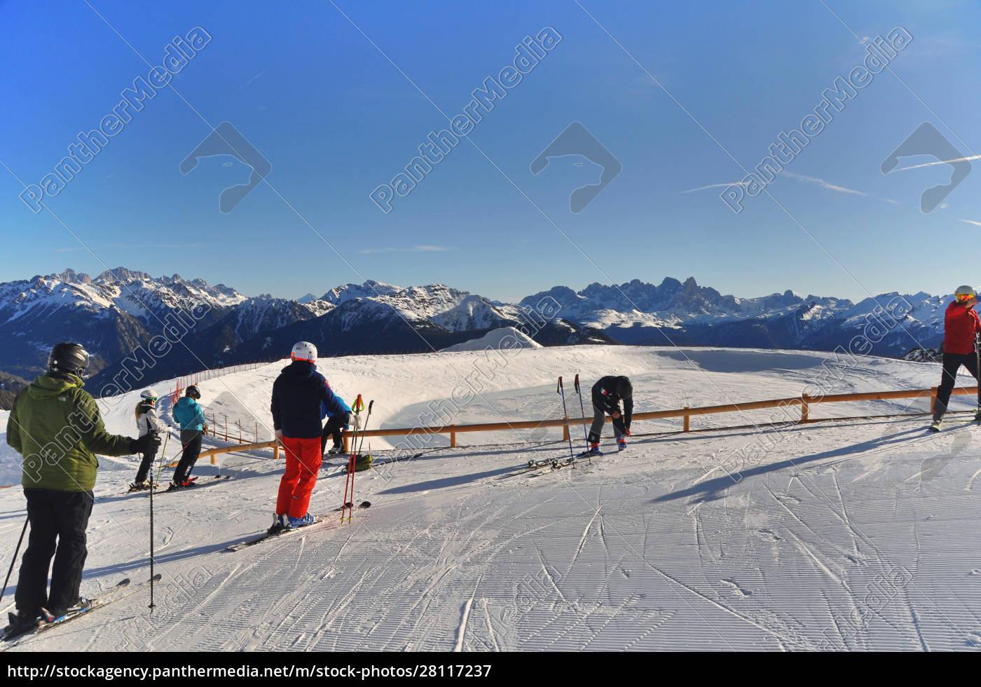 skifahren, in, südtirol - 28117237