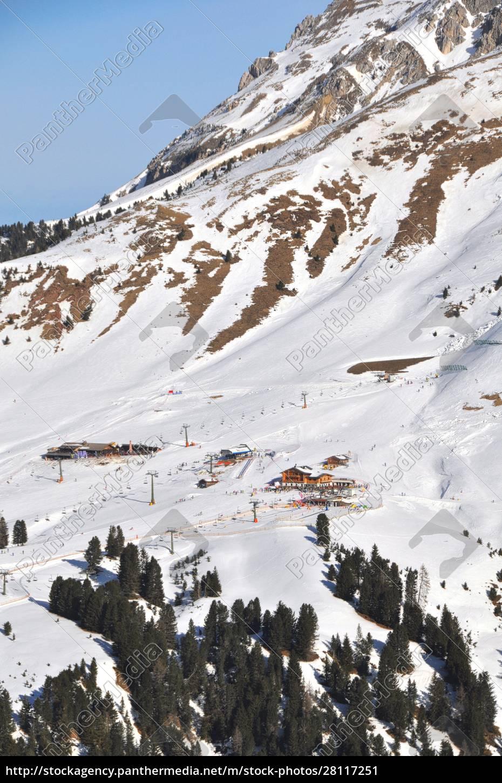 skifahren, in, südtirol - 28117251