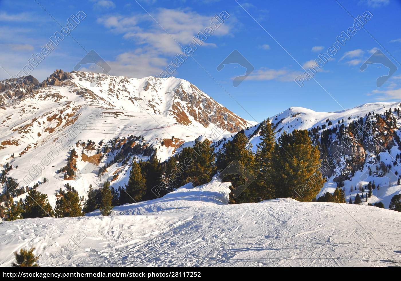 skifahren, in, südtirol - 28117252