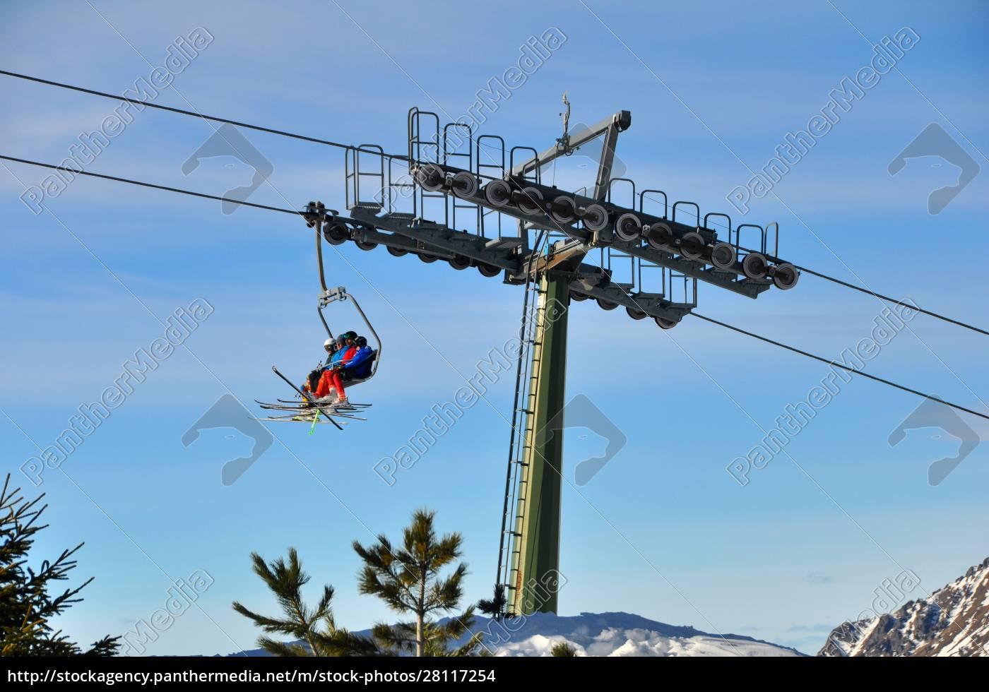 skifahren, in, südtirol - 28117254
