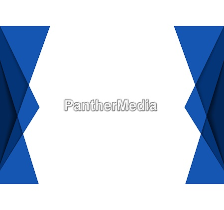 blue geometric background with layers