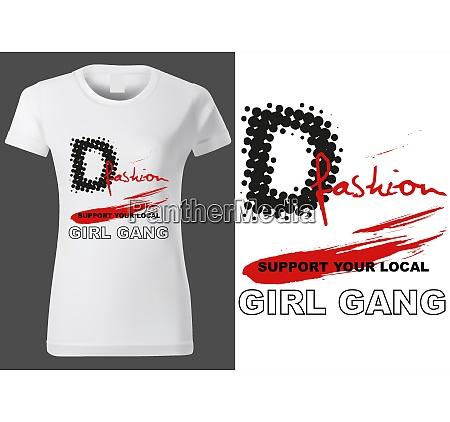 women white t shirt design with