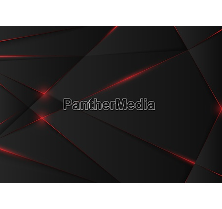 black abstract background with geometric pattern