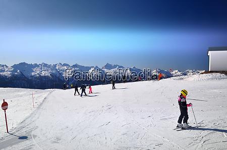 skifahren, in, südtirol - 28131840