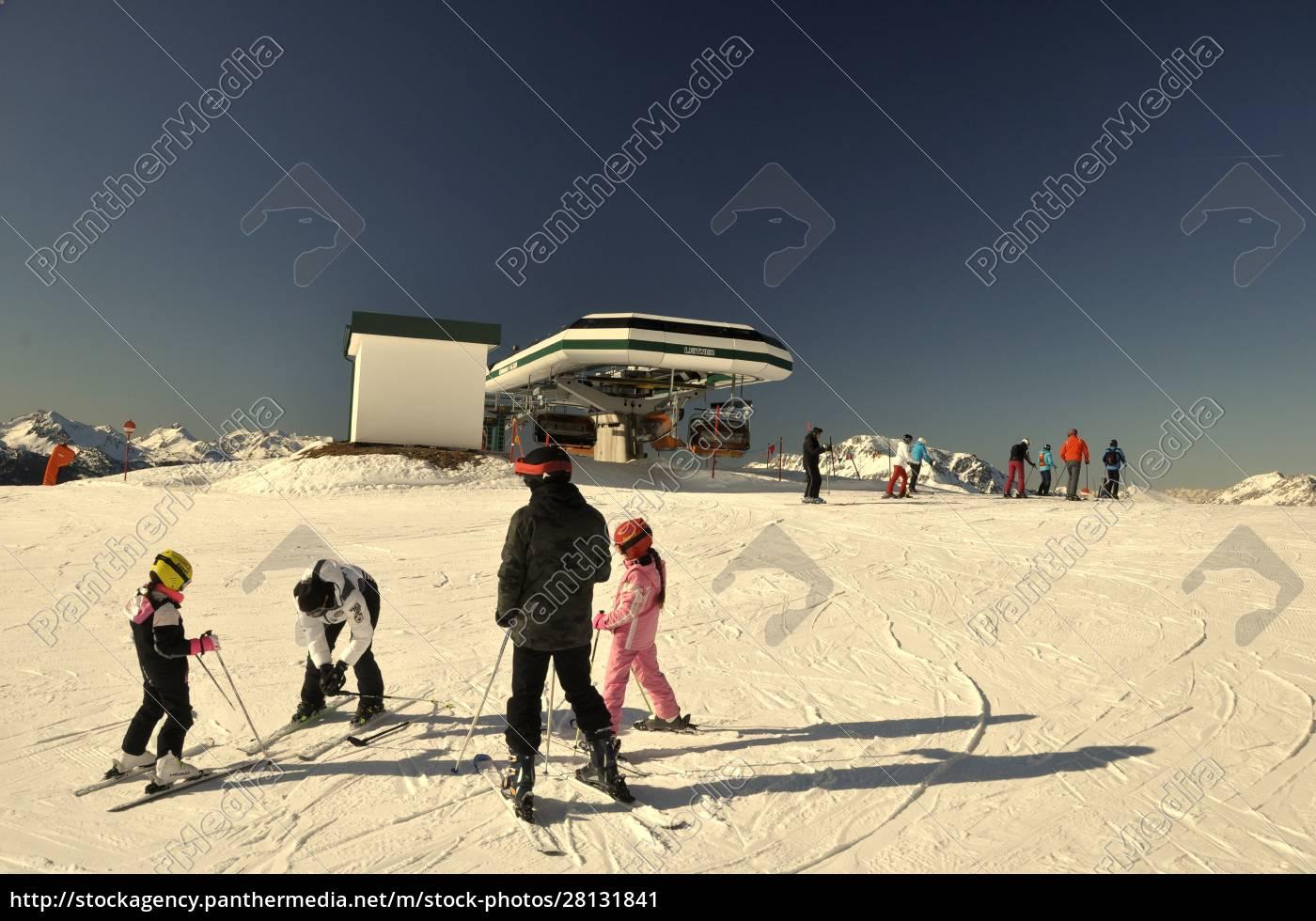 skifahren, in, südtirol - 28131841