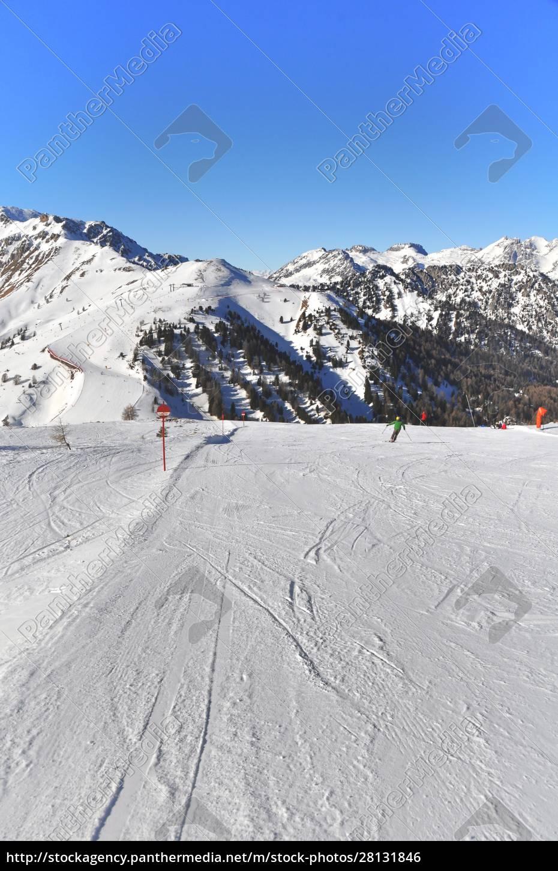 skifahren, in, südtirol - 28131846