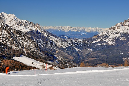 skifahren, in, südtirol - 28131860