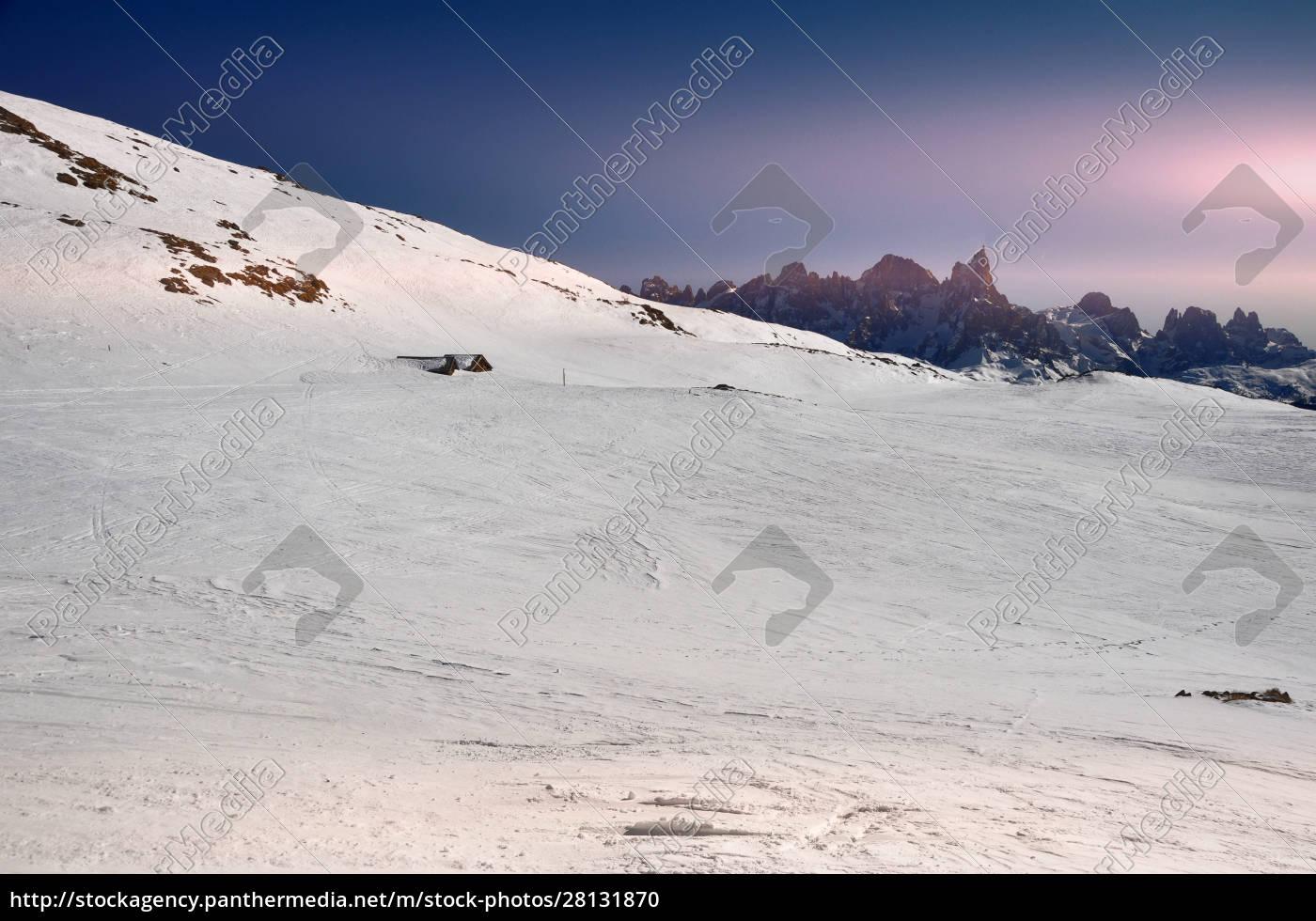 skifahren, in, südtirol - 28131870