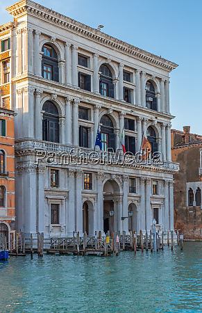 palazzo at grand canal in venice