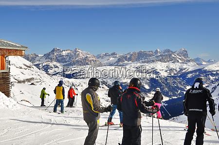 skifahren, in, südtirol - 28140819