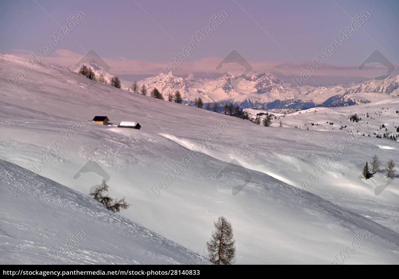 skifahren, in, südtirol - 28140833