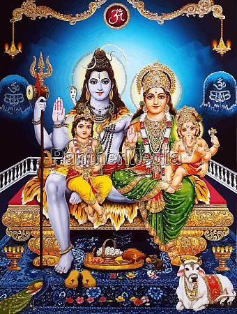 ganesha baby hinduism lord shiva spirituelle