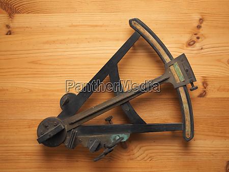 sextant nautisches messgeraet