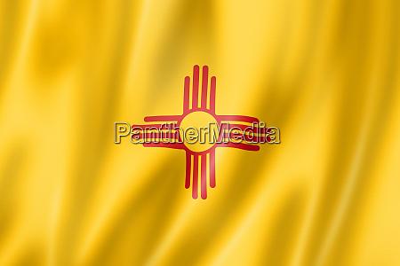 new mexico flagge usa