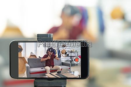 vlogger live bewertung joystick gaming produkt