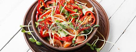 vitamin spring vegetable salad