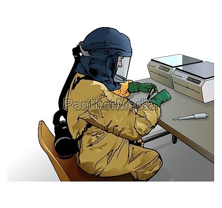 medizinischer virologie forscher