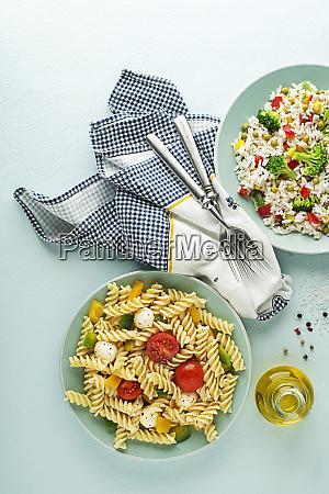 pasta und reismehl