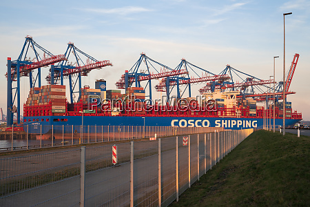 globale handelslogistik containership