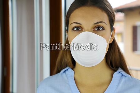 covid 19 pandemic coronavirus mask woman