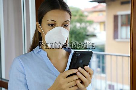 covid 19 pandemic coronavirus woman home
