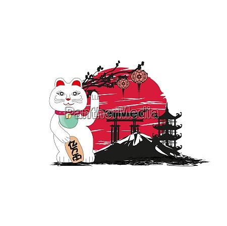 mid autumn festival fuer chinesische neujahrskarte