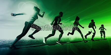 fitnesstraining zusammen