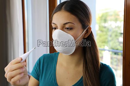 covid 19 pandemic coronavirus mask fever