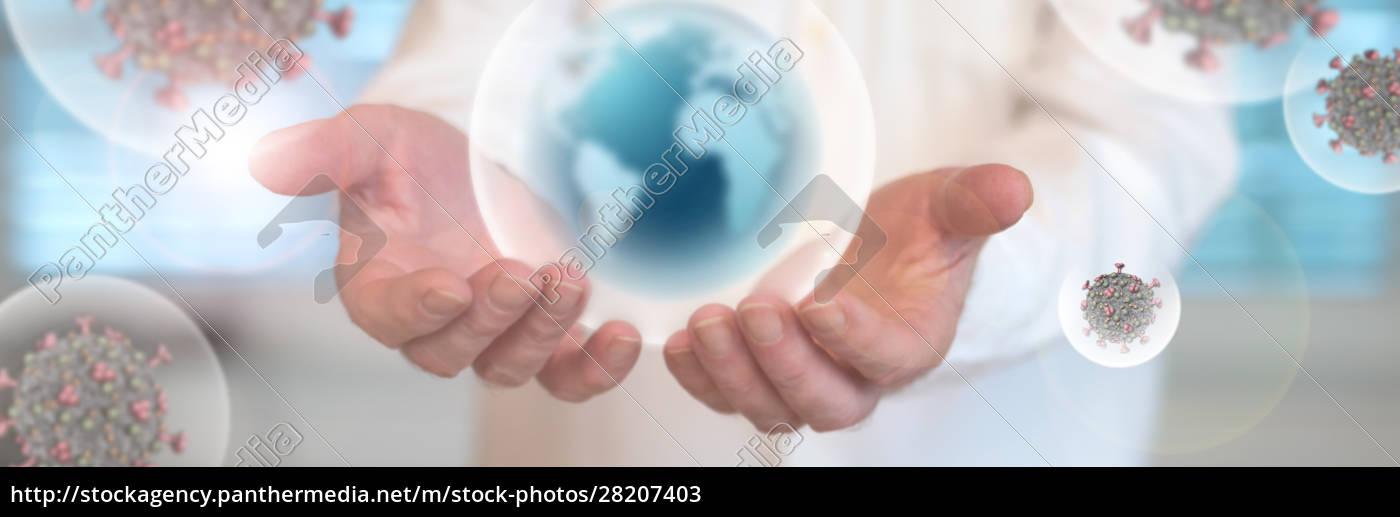 virusinfektion, pandemie - 28207403
