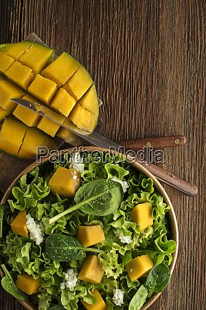 salad mango fruit