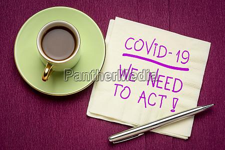 covid 19 wir muessen handeln