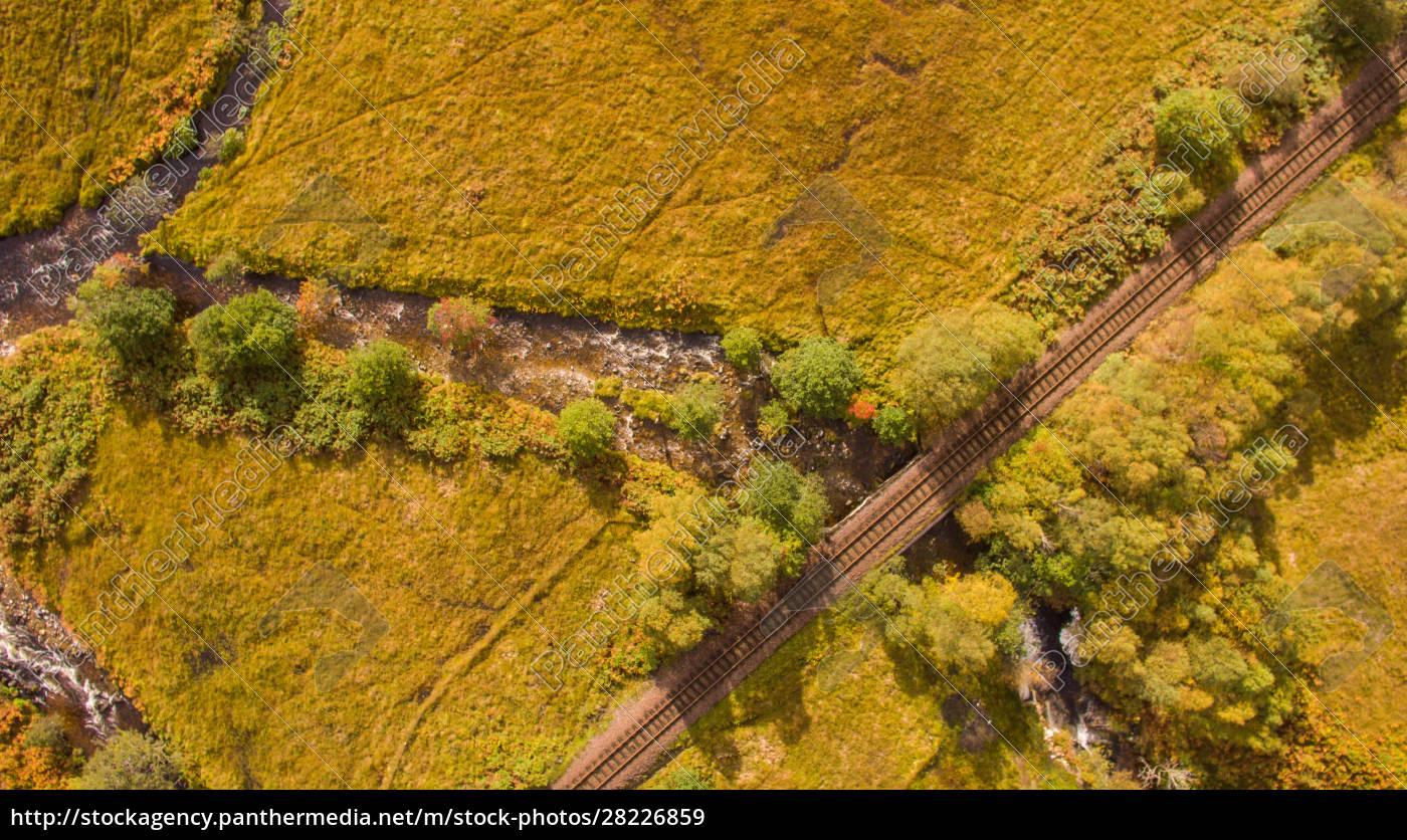 aerial, view, of, landscape, near, glenfinnan - 28226859