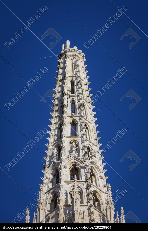 zagreb, von, erdbebengeschädigter, kathedrale, getroffen - 28228804