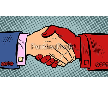 handshake ist gefaehrlich waehrend einer epidemie