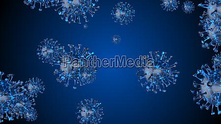mikroskop-viruszelle., pandemiebakterien, erregern, medizinisches, gesundheitsrisiko, corona, covid-19 - 28232574