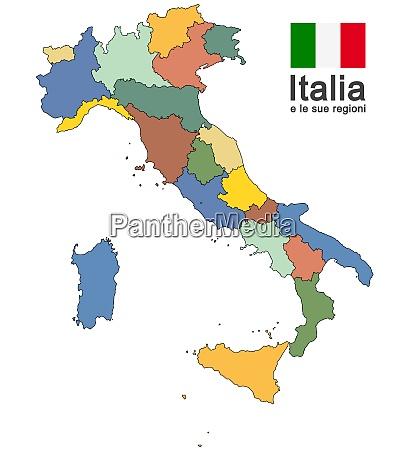 italien und regionen