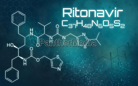 chemical, formula, of, ritonavir, on, a - 28240035