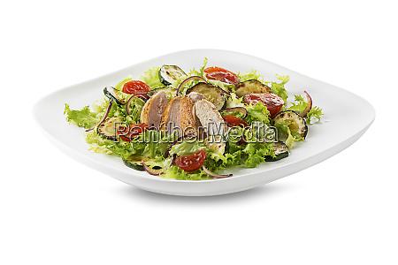 chicken salad grilled