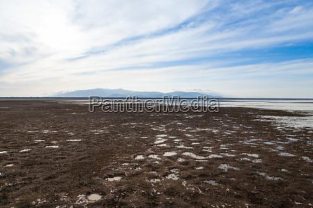 lake manyara landschaft tansania dramatischer himmel