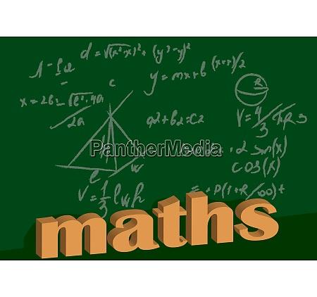 mathematische hintergrund