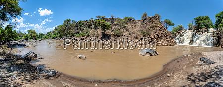 wasserfall in awash nationalpark AEthiopien