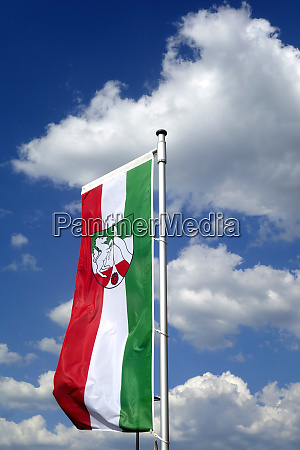 flagge von nrw