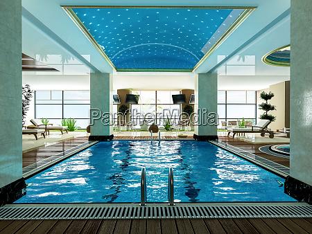 indoor pool design idee