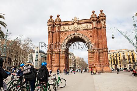 barcelona mAErz 2018 menschen auf