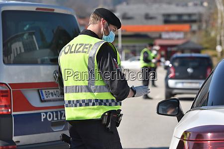 corona krise polizeikontrollen die
