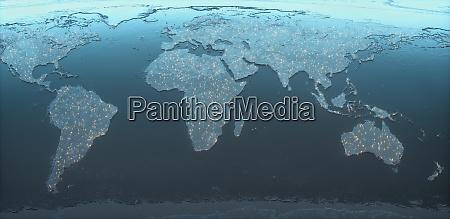 cloud computing digital technology connectivity weltweit