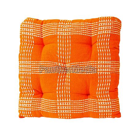 orangefarbenes kissen